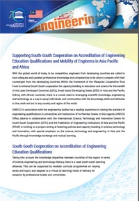 UNESCO FEIAP Co-operation on Engineering Accreditation
