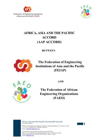 FEIAP-FAEO AAP Accord Signing (16 April 2021)